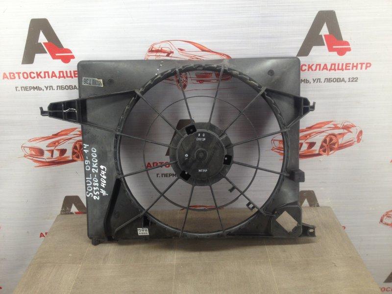 Диффузор радиатора охлаждения - рамка вентиляторов Kia Soul (2008-2014)