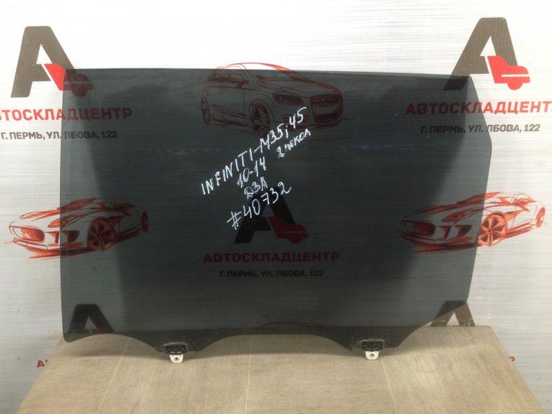 Стекло двери задней левой Infiniti M-Series / Q70 (2005-2018)