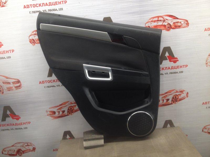Обшивка двери задней левой Opel Antara (2006-2015)