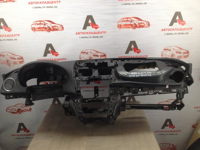 Торпедо - передняя панель салона Mazda Mazda 6 (Gh) 2007-2012