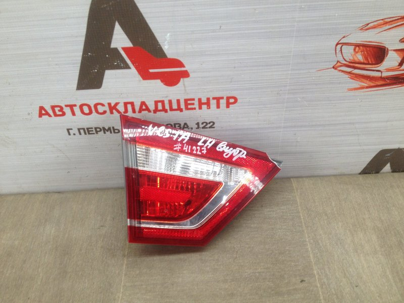 Фонарь левый - вставка в дверь / крышку багажника Lada Vesta