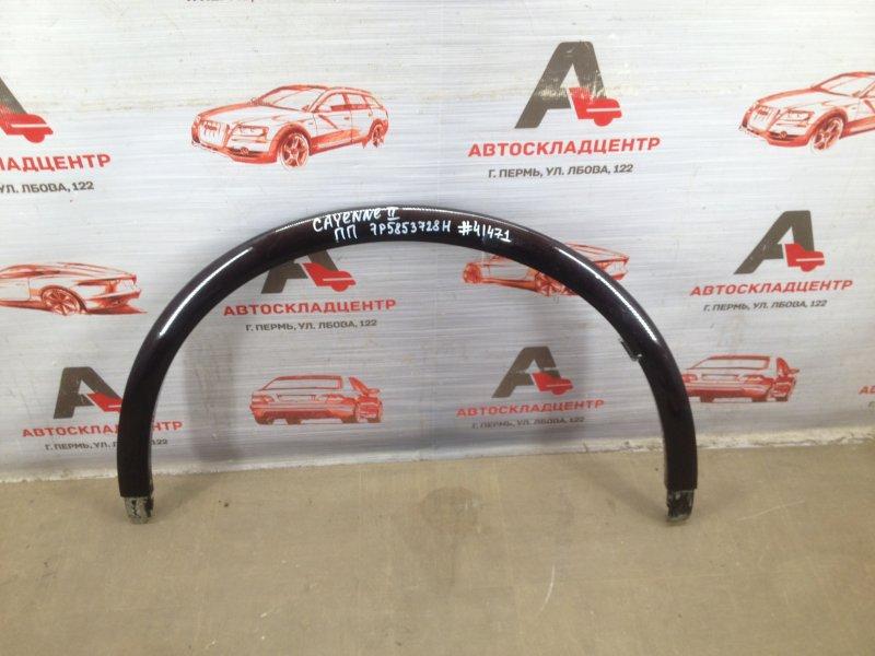 Накладка ( расширитель ) арки крыла - перед справа Porsche Cayenne (2010-2018)