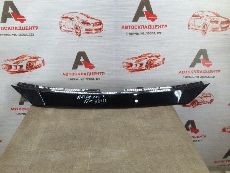 Решетка радиатора - накладка Mazda Cx-5 (2017-Н.в.) верхняя
