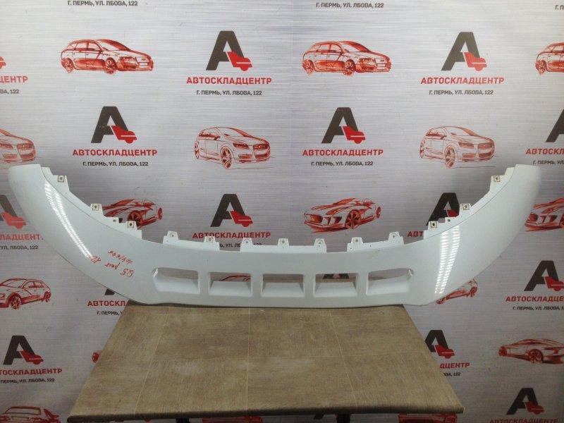 Спойлер (юбка) бампера переднего Audi Q5 (2008-2017) 2012