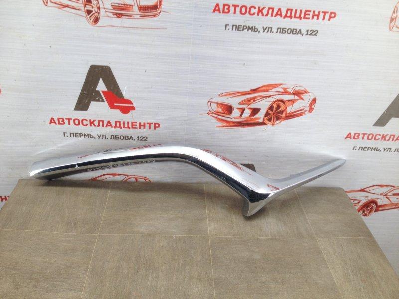 Решетка радиатора - молдинг Mazda Cx-5 (2017-Н.в.) правая