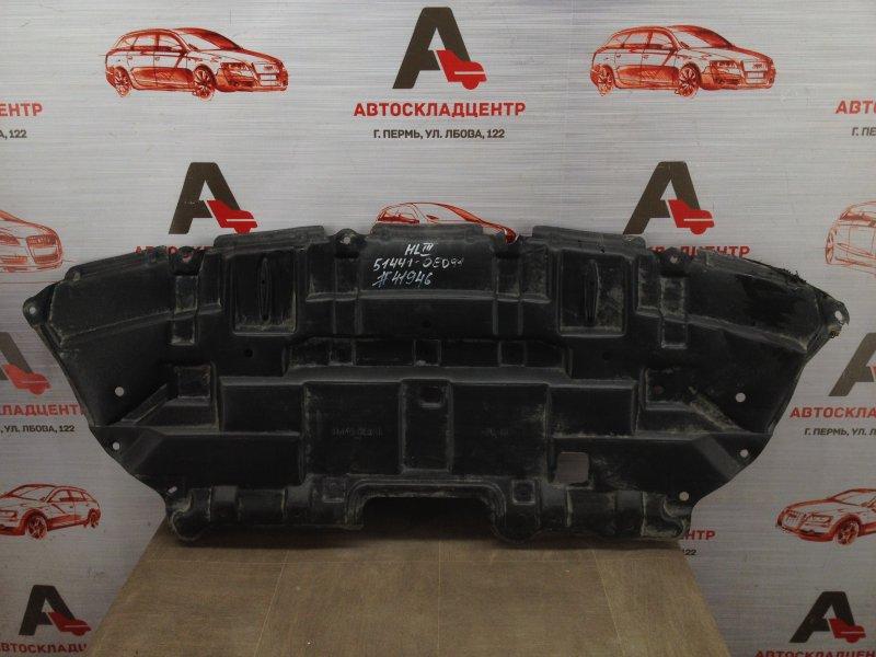 Защита моторного отсека - пыльник двс Toyota Highlander (Xu50) 2013-Н.в.