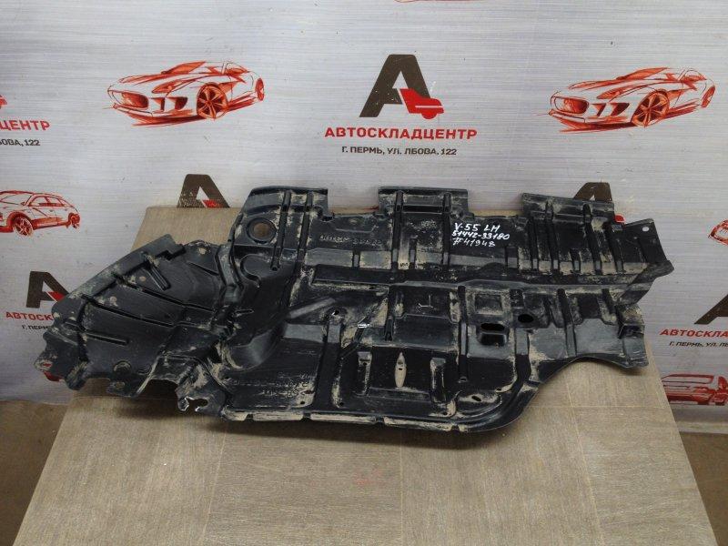 Защита моторного отсека - пыльник двс Toyota Camry (Xv50) 2011-2017 2014 левая