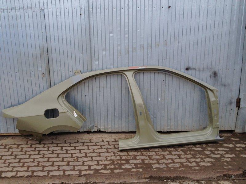 Кузов - боковина (обрезок с задним крылом) Skoda Superb (2015-Н.в.) правый