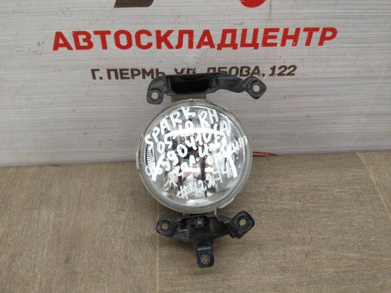 Фара противотуманная / дхо Chevrolet Spark 2005-2010 правая