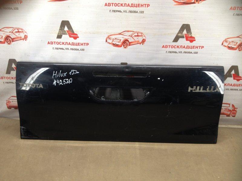 Дверь багажника - откидной борт Toyota Hilux (2015-Н.в.)