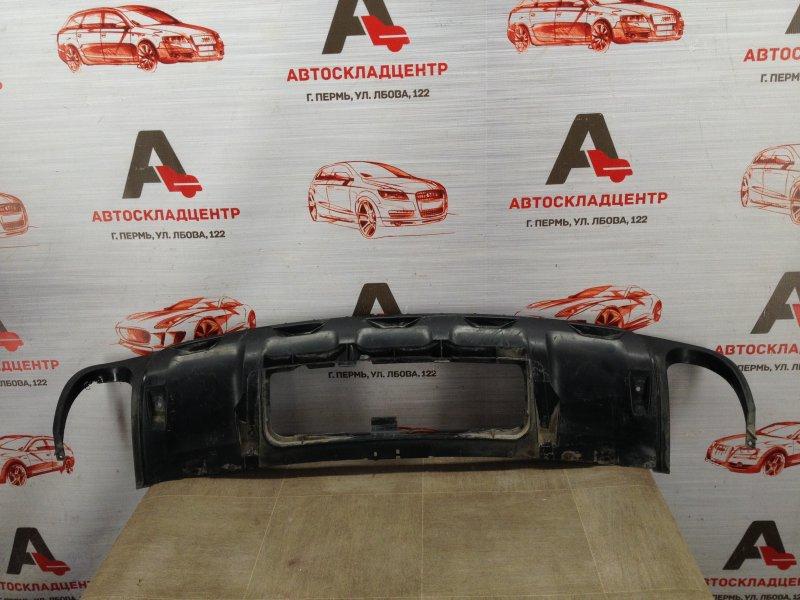 Спойлер (накладка) бампера заднего Audi A6 (C6) 2004-2011