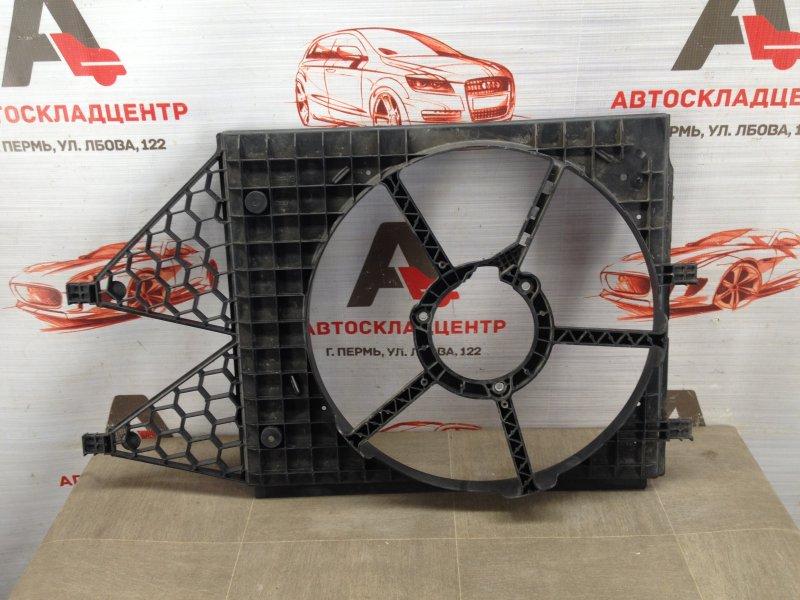 Диффузор радиатора охлаждения - рамка вентиляторов Volkswagen Polo (Mk5) Хэтчбэк 2008-2014
