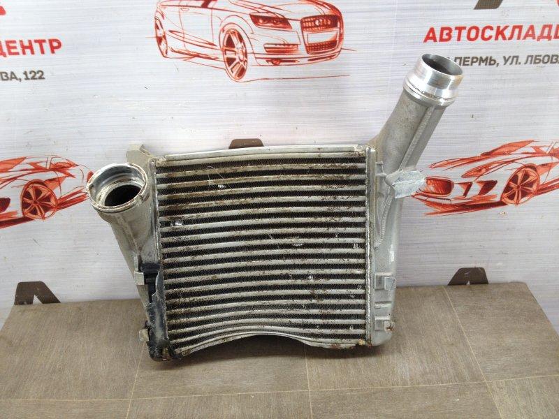 Интеркулер - радиатор промежуточного охлаждения воздуха Volkswagen Touareg (2010 - 2018)