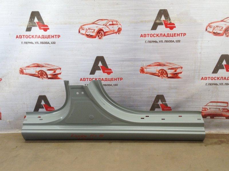 Кузов - порог (обрезок) Hyundai Elantra (2015-Н.в.) правый