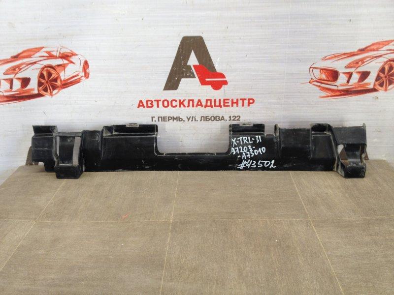 Дефлектор воздушного потока основного радиатора Nissan X-Trail (2007-2015) нижний