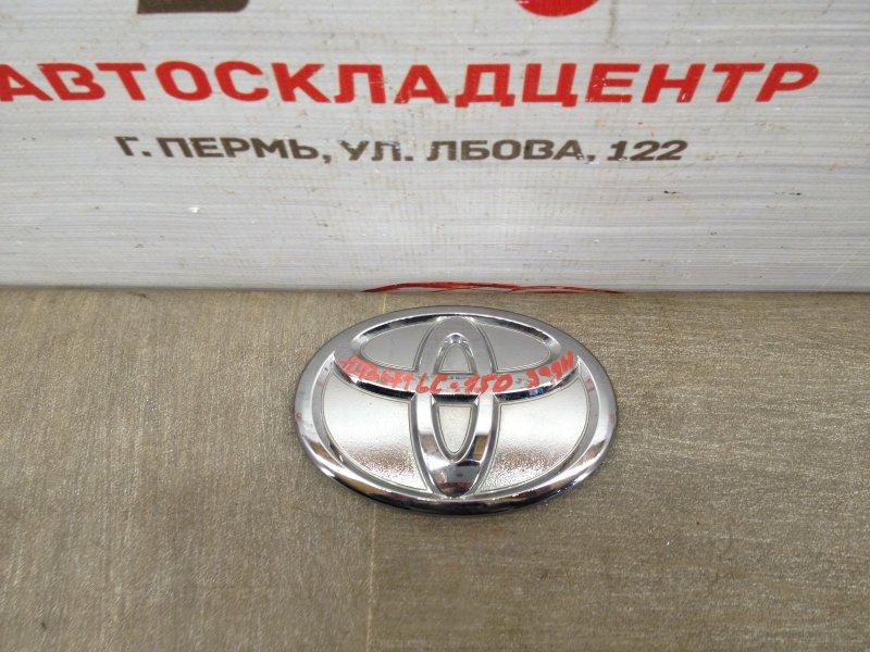 Эмблема (значок) Toyota Land Cruiser Prado 150 (2009-Н.в.) задняя
