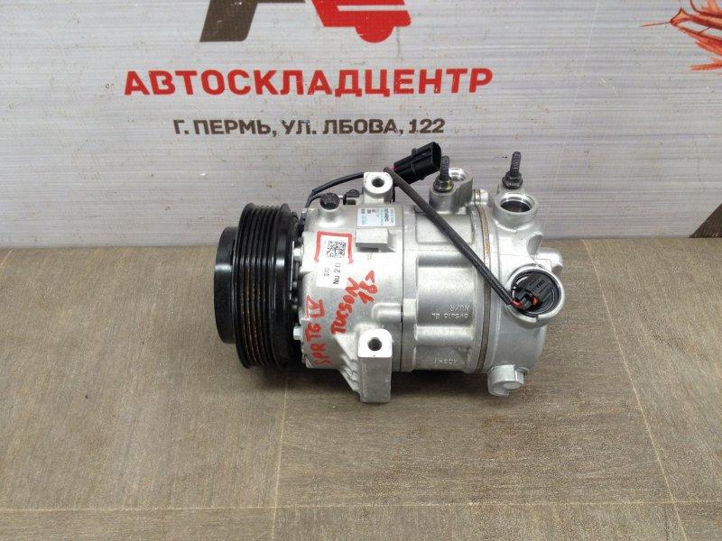 Компрессор (насос) кондиционера Kia Sportage (2016-Н.в.)