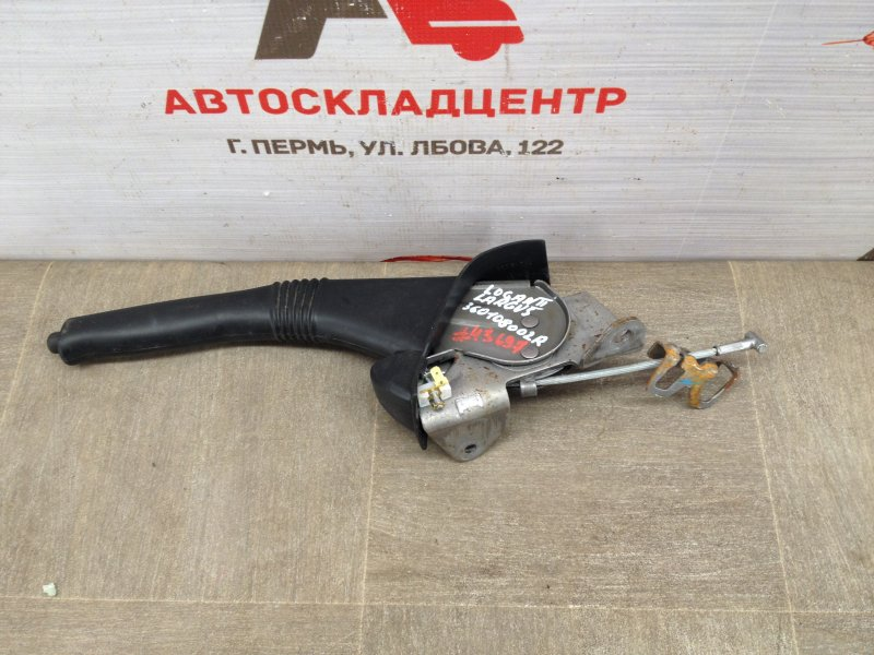 Тормозная система - рычаг стояночного тормоза (ручник) Renault Duster (2010-Н.в.)