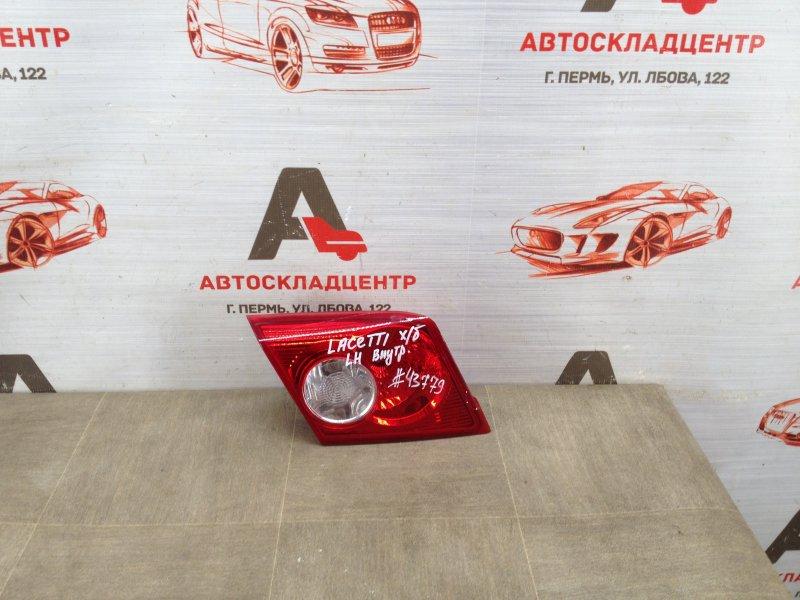 Фонарь левый - вставка в дверь / крышку багажника Chevrolet Lacetti