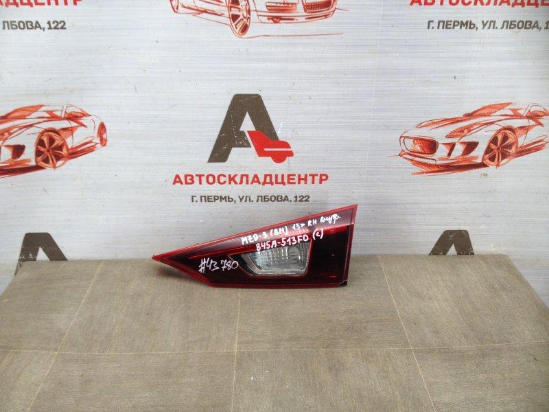 Фонарь правый - вставка в дверь / крышку багажника Mazda Mazda 3 (Bm) 2013-Н.в.