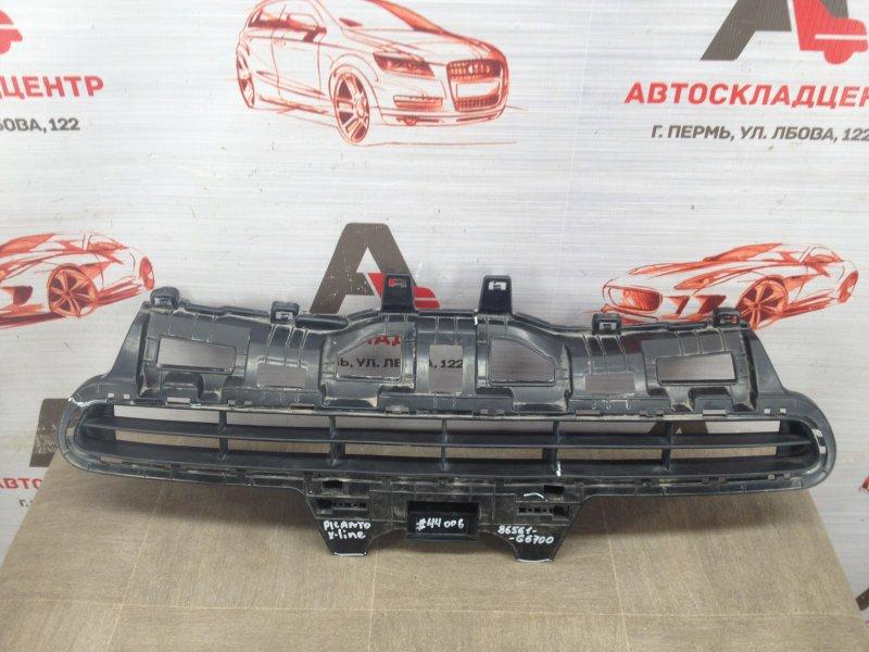 Решетка бампера переднего Kia Picanto (2017-Н.в.)