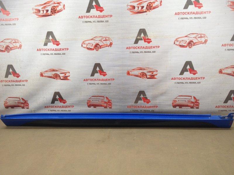Накладка порога кузова - наружная облицовка Bmw X2-Series (F49) 2017-Н.в. правая