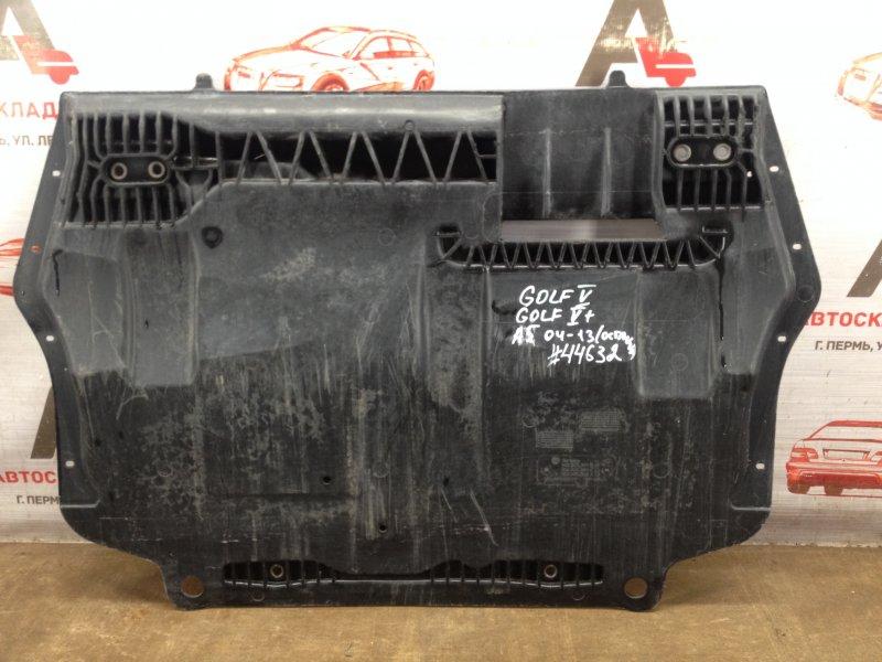 Защита картера двс (моторного отсека) Skoda Octavia (2004-2013)