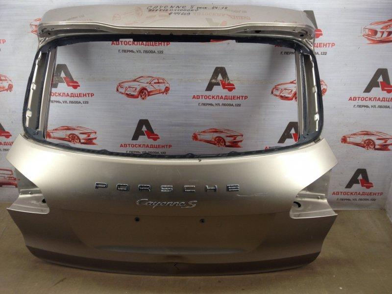 Дверь багажника Porsche Cayenne (2010-2018) 2014