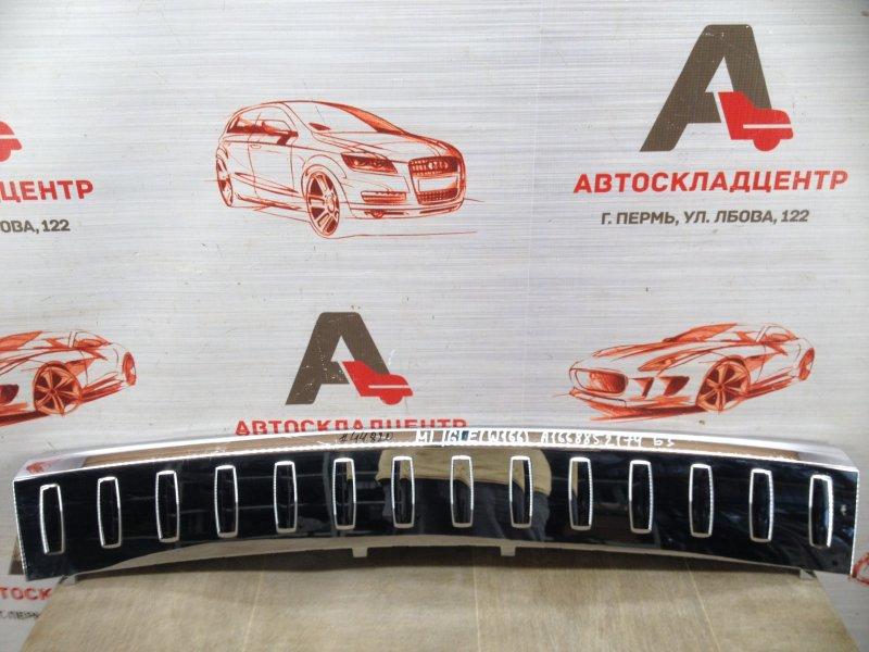 Накладка бампера заднего Mercedes Gle-Klasse (W166) 2015-2018