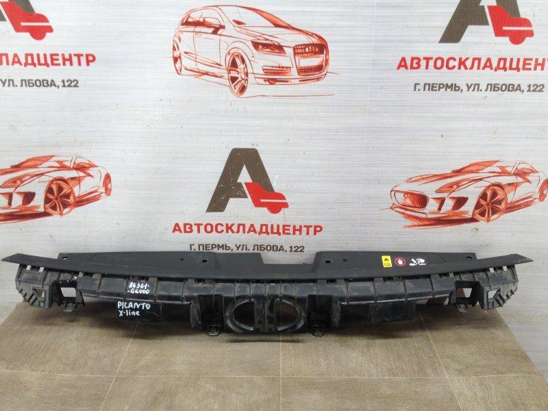 Пыльник бампера переднего верхний Kia Picanto (2017-Н.в.)