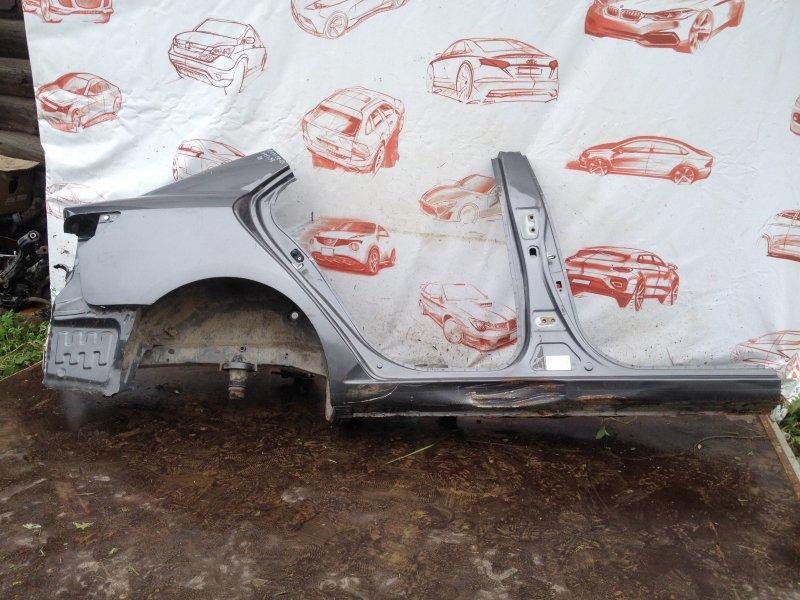 Кузов - порог Kia Cerato (2008-2013) G4FC (1600CC) 2012 правый
