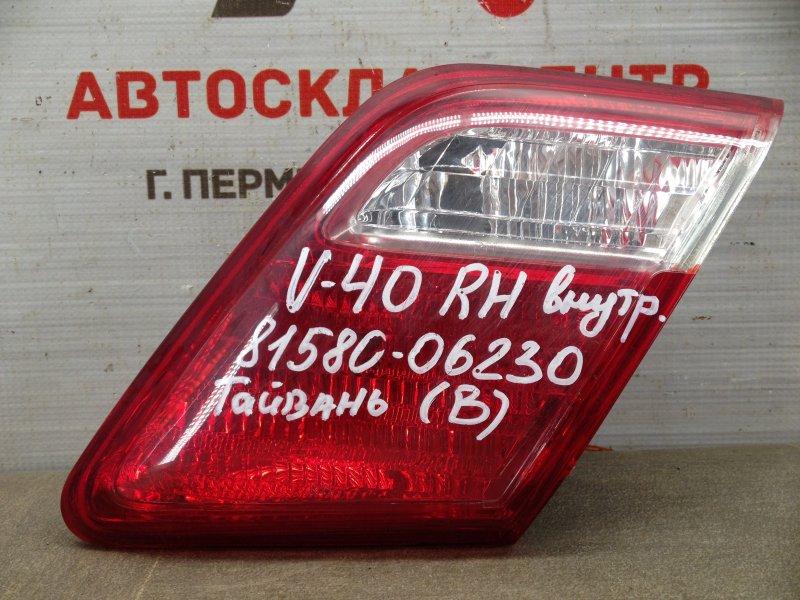 Фонарь правый - вставка в дверь / крышку багажника Toyota Camry (Xv40) 2006-2011