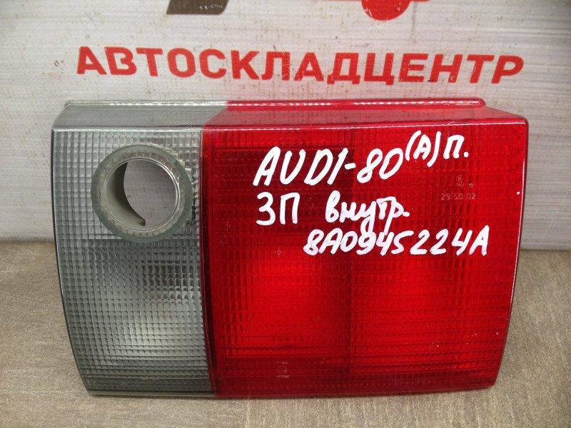 Фонарь правый - вставка в дверь / крышку багажника Audi 80 (B3/b4) 1986-1995 1991