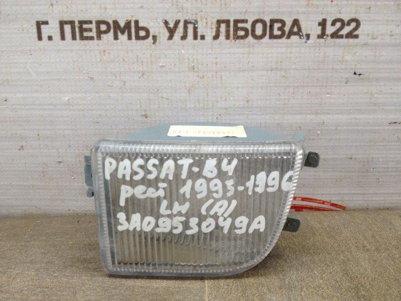 Фонарь - указатель поворота Volkswagen Passat (B4) 1993-1997 левый