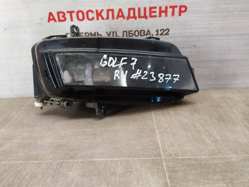 Фара противотуманная / дхо Volkswagen Golf (Mk7) 2012-2019 2012 правая