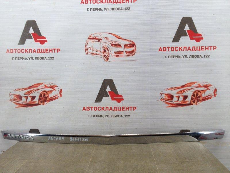 Накладка / молдинг двери багажника Opel Antara (2006-2015)