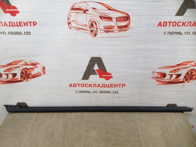 Молдинг-уплотнитель стекла двери (бархотка) Volkswagen Polo (Mk5) Седан 2010-2020 задний правый