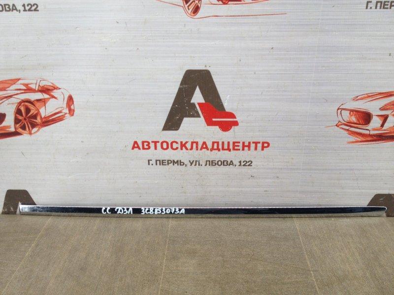 Молдинг двери задней левой Volkswagen Passat Cc (2008-2016)