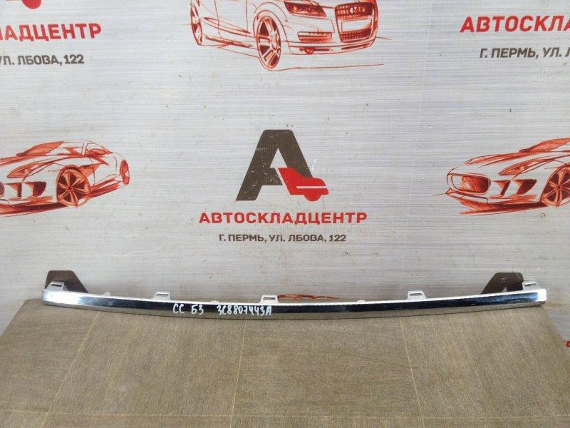 Молдинг бампера Volkswagen Passat Cc (2008-2016) 2008 задний