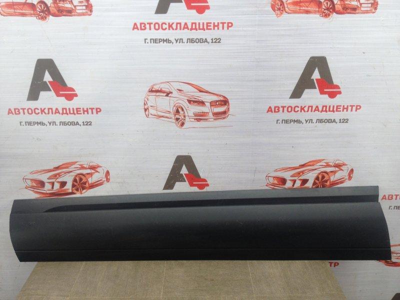 Накладка двери передней левой Volkswagen Touareg (2010 - 2018)