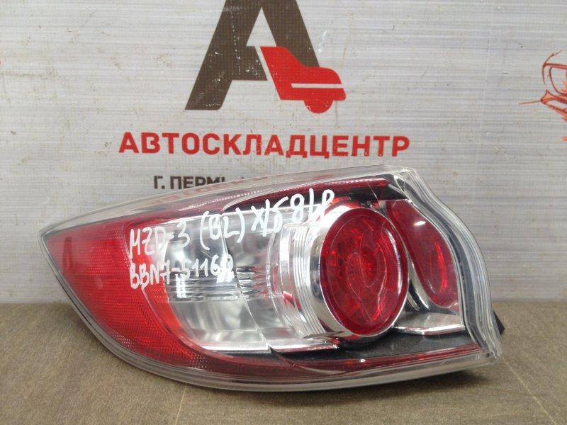Фонарь левый Mazda Mazda 3 (Bl) 2008-2013 2008