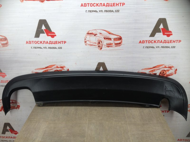 Спойлер (накладка) бампера заднего Volkswagen Jetta (Mk6) 2010-2019 2010