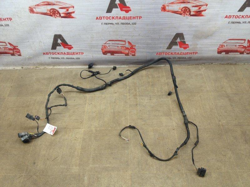 Электрика - проводка бампера Porsche Cayenne (2010-2018) передняя