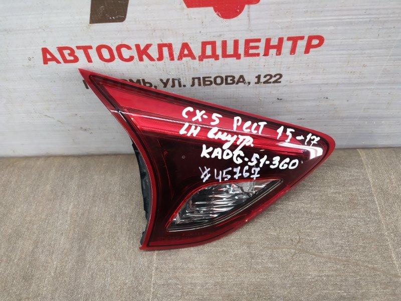 Фонарь левый - вставка в дверь / крышку багажника Mazda Cx-5 (2011-2017) 2014