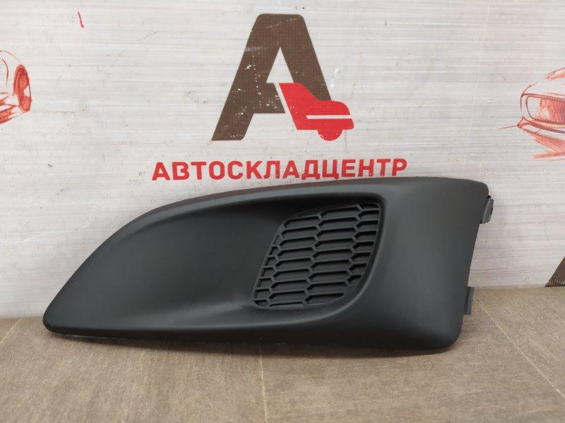 Заглушка противотуманной фары Chevrolet Aveo 2012-2015 левая