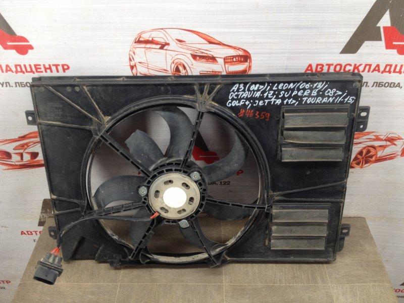 Диффузор радиатора охлаждения - рамка вентиляторов Seat Altea (2004-2015)