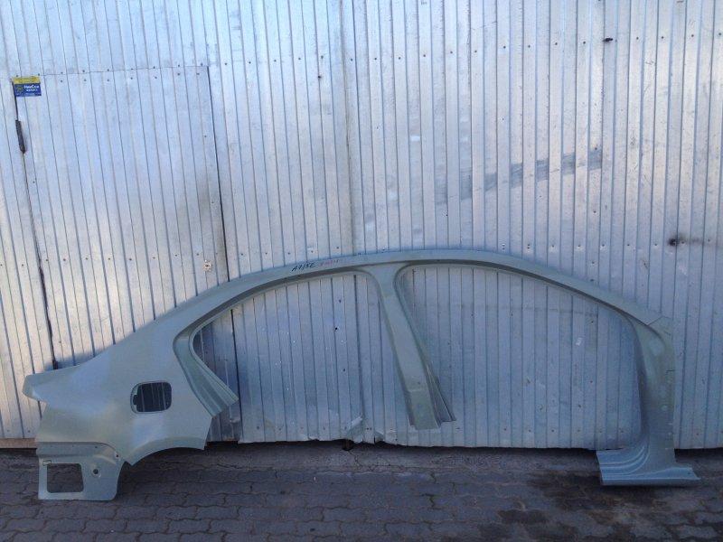 Кузов - боковина (обрезок с задним крылом) Skoda Octavia (2012-2020) правый