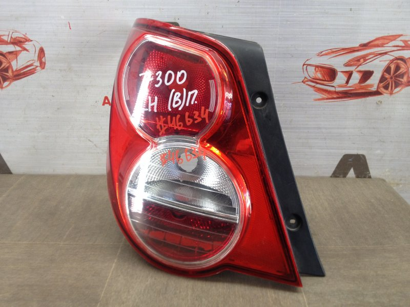 Фонарь левый Chevrolet Aveo 2012-2015