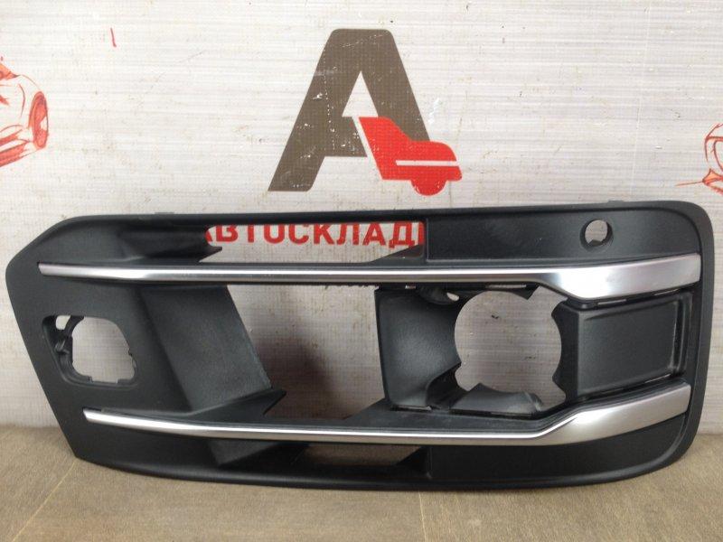 Решетка бампера переднего Audi Q7 (2015-Н.в.) правая