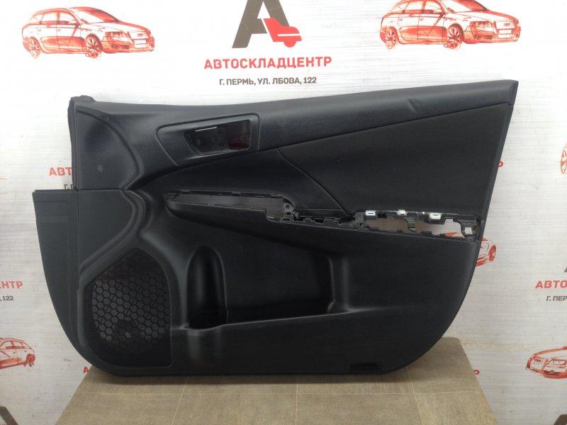 Обшивка двери передней правой Toyota Camry (Xv50) 2011-2017